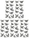 [THE FANTASY (ファンタジー)] タトゥーシール 蝶 男女兼用 3歳以上 [5枚入り]ymx050