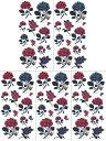 (ファンタジー) TheFantasy 【5枚セット】 タトゥーシール 薔薇 ymx195 【レギュラー】