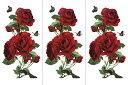 (ファンタジー) TheFantasy 【3枚セット】 タトゥーシール 薔薇 ymx289 【レギュラー】