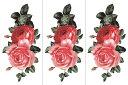(ファンタジー) TheFantasy 【3枚セット】 タトゥーシール 薔薇 ymx293 【レギュラー】