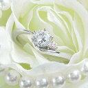 ダイヤモンド婚約指輪 サイズ直し一回無料 0.2ct G SI1 GOOD アンシンメトリーライン6本爪ピンクD1 プラチナ Pt900 婚約指輪(エンゲージリング)