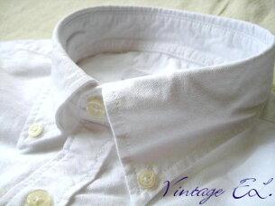 ビンテージイーエル オックスフォード ボタンダウンシャツ ホワイト