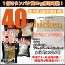 40chicken (30個入り)【サラダチキン】【フォーティーチキン】【40チキン】【送料無料】