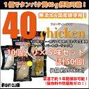 40chicken (各味10個入りセット)【サラダチキン】【フォーティーチキン】【5種セット】【4