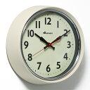■ RETRO WALL CLOCK IVORY (レトロ ウォール クロック アイボリー) S426-207IV 【ポイント3倍】 【あす楽対応】 【02P09Jul16】