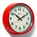 ■ RETRO WALL CLOCK RED (レトロ ウォール クロック レッド) S426-207RD 【ポイント3倍】 【あす楽対応】