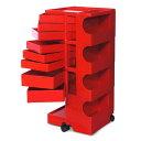■ 正規輸入品 BOBY WAGON 4×8 RED (ボビーワゴン 4段8トレイ レッド) 【送料無料】 【ポイント10倍】