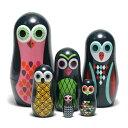 ■ OMM DESIGN POCKET MATRYOSHKA OWL (OMM デザイン ポケット マトリョーシカ オウル) 【あす楽対応】