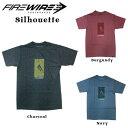 FIREWIRE SURFBOARDS【ファイヤーワイヤー】半袖Tシャツ Silhouette【シルエット】