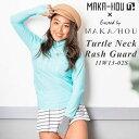 MAKA-HOU マカホー ラッシュガード Turtle neck-Rash Guard [15W06-02S] タートルネックラッシュガード 水着 サーフィン