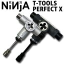 NINJA [ニンジャ] スケートボード 工具 T TOOLS PERFECT X [ツール パーフェクト テン] 10機能付き 2カラー【...