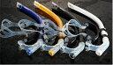 あす楽対応 送料無料 SQUALO センター シュノーケル 競泳姿勢矯正及びフィン競泳用 【RCP】