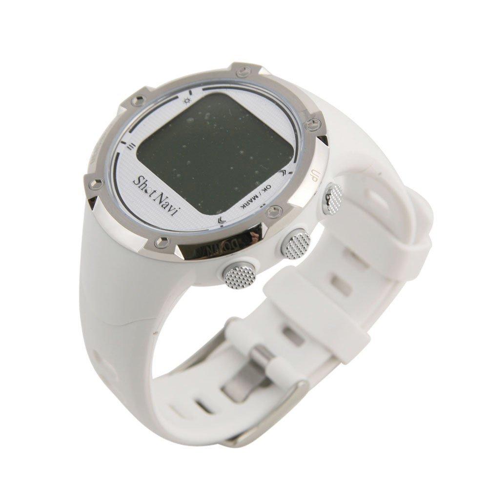 【送料無料】プロゴルフ協会推薦ショットナビ (Shot Navi)W1-GLゴルフナビ ホワイト 距離測定器 腕時計型【スポーツ】 (ゴルフ用品/距離測定器)