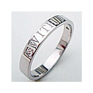 【送料無料】人気のホワイトゴールドメッセージリング【刻印・文字彫り無料】結婚指輪・マリッジリング・記念日・ギフト05P9Nov12 熟練のクラフトマンが心を込めておつくりしますセミオーダージュエリーがこの価格!思いを♪形にK18ホワイトゴールドメッセージリング