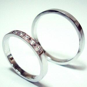 【お得な2本セット価格/送料無料】プラチナダイヤペアリング【刻印・文字彫り無料】結婚指輪 マリッジリング 記念日 ギフト ダイヤ ダイヤモンド ダイアモンド プラチナリング リング 指輪 platinum ring プラチナ指輪 05P13Jul11 熟練のクラフトマンが心を込めておつくりします。セミオーダージュエリーが2本セットでこの価格!