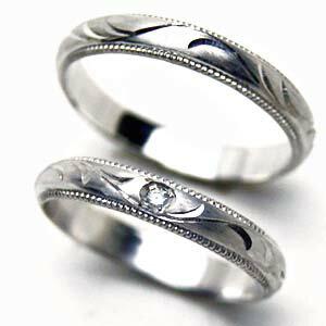 【お得な2本セット価格/送料無料】手彫りつる草のリング人気のプラチナ ペアリング【刻印・文字彫り無料】結婚指輪/マリッジリング/platinum/リング/ring/プラチナ指輪/プラチナリング/ダイヤ/ダイヤモンド/ダイアモンド/指輪/記念日/ギフト/05P02jun13 熟練のクラフトマンが心を込めておつくりします。セミオーダージュエリーが2本セットでこの価格!
