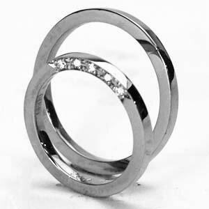 【2本セット価格/送料無料】プラチナ リングダイヤペアリング【刻印・文字彫り無料】結婚指輪 マリッジリング 記念日 ギフトplatinum ring ダイヤ ダイヤモンド プラチナリング プラチナ指輪 ダイアモンド 指輪  02P02Aug14 熟練のクラフトマンが心を込めておつくりします。セミオーダージュエリーが2本セットでこの価格!
