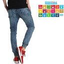 ジーンズ メンズ ジーパン デニムパンツ ジョガーパンツ ストレッチ パンツ 11.5oz サステナブル SDGs サスティナブル サステイナブル ベターコットン ウエストゴム ワングラスジーンズ ブランド 5581