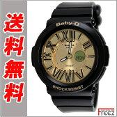 CASIO カシオ Baby-G ベビーG baby-g ネオンダイアル BGA-160-1BNeon Dial Series ネオンダイヤル BLACK×GOLD【あす楽】【送料無料】