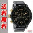 NIXON ニクソン 腕時計メンズ 51-30CHRONO フィフティーワンサーティー マットブラック ゴールド MATTE/BLACK/GOLD A083-1041 【あす楽】【送料無料】