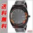 ニクソン NIXON 腕時計 TIME TELLER ACETATE MATTE BLACK/DARK TORTOISEタイムテラー アセテートA327-1061【あす楽】【送料無料】