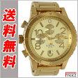ニクソン NIXON ニクソン 腕時計 メンズ 48-20 CHRONO ALL GOLD オールゴールド A486-502 【送料無料】