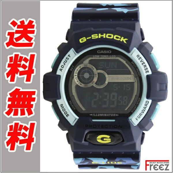 カシオ CASIO G-SHOCK ジーショック メンズ腕時計 GLS-8900CM-2 G-LIDE カモフラ ジーショック 腕時計 メンズ【】【送料無料】 【G-SHOCK】【メンズ】【腕時計】【G-LIDE】(G-ライド)」のウィンターバージョンレザー 腕時計 メンズ