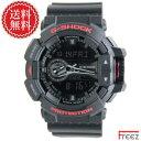 カシオ G-SHOCK 腕時計 メンズ Black & Red Series GA-400HR-1A【あす楽】【送料無料】