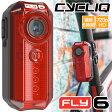ショッピングドライブレコーダー CYCLIQ FLY6 自転車用ドライブレコーダー 付き テールライト リアライト ドラレコ 車載カメラ アクションカメラ リアカメラ ムービーカメラ ライト LED 事故防止 事故記録 録画 防水 超小型 8GB microSD 付属 02P27May16