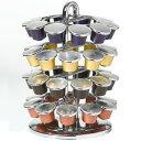 ネスプレッソ 専用 カプセルホルダー 40個 収納可能 NIFTY Capsules for Nespresso ニフティ カルーセル コーヒー 珈琲 coffee エスプレッソ 輸入品
