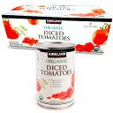 カークランド organic dice tomatoes ダイス トマト 411g × 8缶 食品 食材 缶詰 トマト缶 オーガニック ホー...