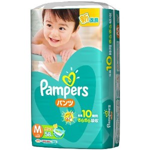 ★ paper diapers pampers dry ケアパンツ Super Jumbo M 58-4 PCs