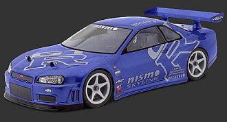 HPI 7427 Nissan Skyline R34 gt-r body (200 mm)