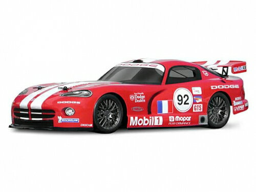 HPI 7601-Dodge Viper GTS-r body ( WB140mm )