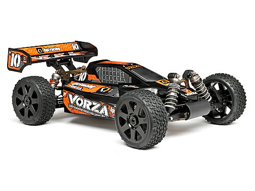 101842 HPI VB-1 dune buggy paint bodies (black / orange)