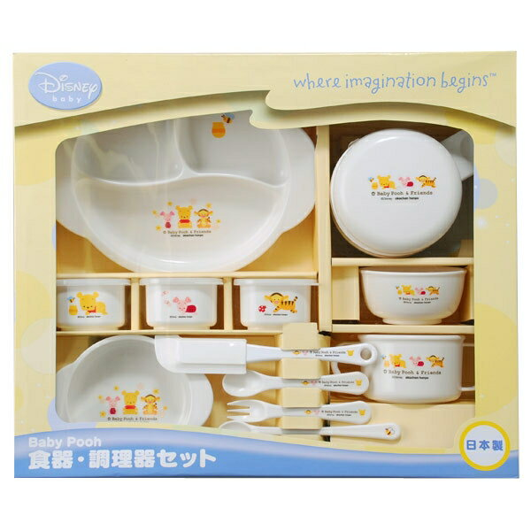 Baby PHO dish 15 points set