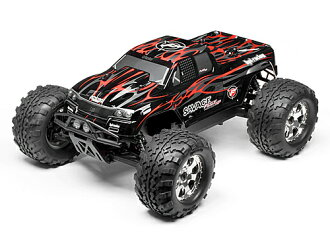 102215 HPI Savage FLUX HP GT-2 paint body (black/gray/red)