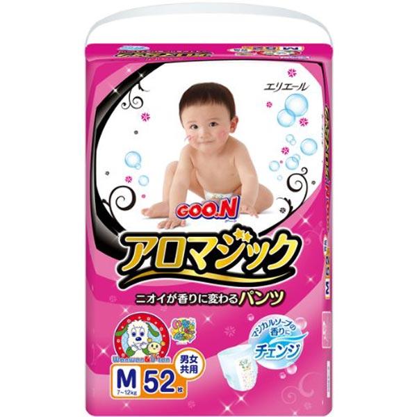 GOO.N大王男女通用纸尿裤M52片