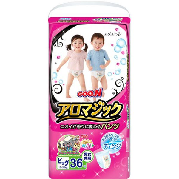 GOO.N大王天使魔幻香男女通用拉拉裤XL36片