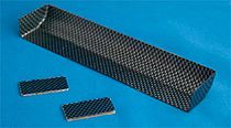 Have been cut high downforce wing 《 carbon print IFMAR standard size for R-27020 1/10 touring cars; 》