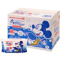 99 %Super wipes water thick type Disney package 60 x 16-Pack supplied 1 case