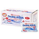 【スマホエントリーでポイント10倍】赤ちゃん本舗 Double AQUA ダブルアクア たっぷりの水で洗い流す 水99% おしりふき 厚手タイプ 55枚×12個