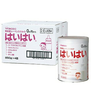 It is 850 g of dry milk WAKODO Wakodo Leben milk crawling four cans + (as for the expiration date more than one year)