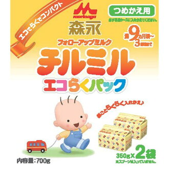 Morinaga eco probably Pack refill for チルミル bag 350 g x 2 pieces