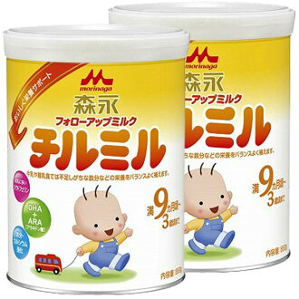 First follow-up milk Morinaga チルミル 850 g × 2 cans Pack + Morinaga eco-perhaps Maple for チルミル bag 350 g x 2 pieces