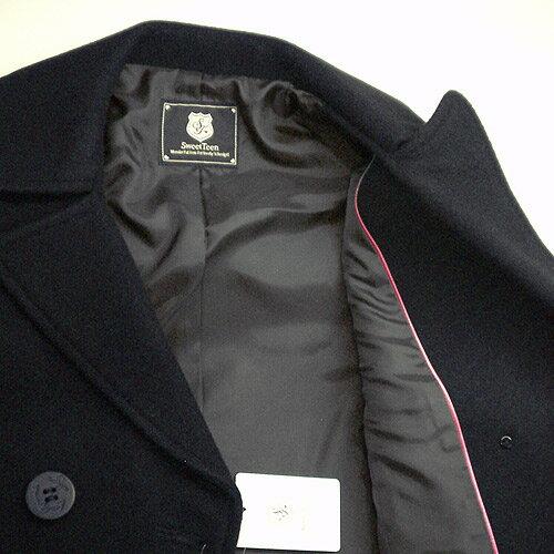 【送料無料】当店で一番売れてるピーコートネイビー・ダークグレー・ブラックS〜Lカンコースイートティーン