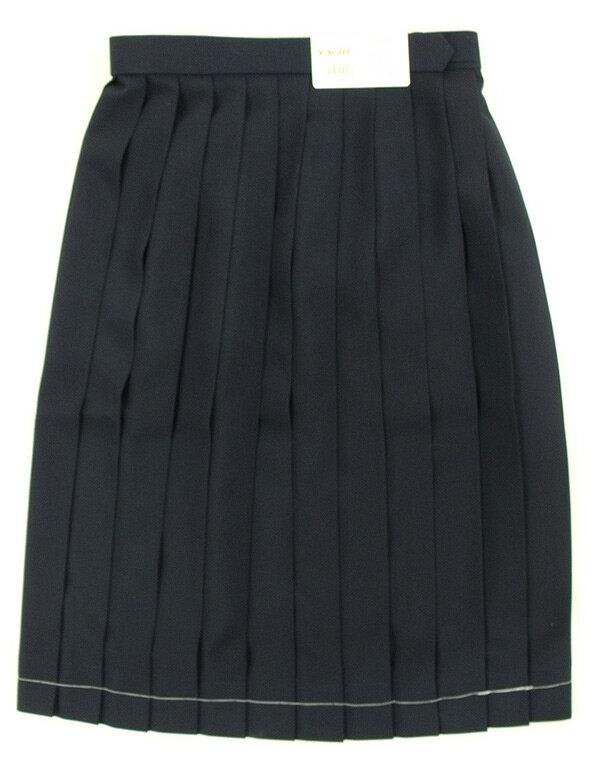 制服 スカート 富士ヨット紺スカート セーラースカート 冬用 大きいサイズ【日本製】【コンビニ受取対応商品】