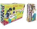 2点セット【新品】(税込価格)キネティックサンド2LB+キネティックサンドテーブル(かわいい10種類...