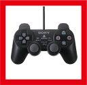 【新品】(税込価格) PS2 アナログコントローラ DUALSYOCK2 (デュアルショック2) ブラック SCPH-10010【SONY純正国内正規品】