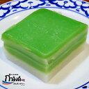 カノムチャンういろうに似たタイの伝統菓子 タイ 伝統菓子 もちもち プルプル